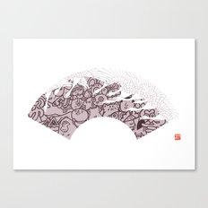 FUYU - winter Canvas Print
