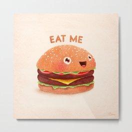 Burger Metal Print