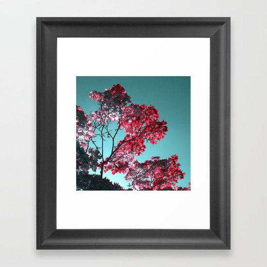 night colors II Framed Art Print
