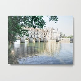 Chenonceau Chateau in France Metal Print