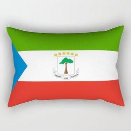 Flag of Equatorial Guinea Rectangular Pillow