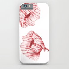 the neighbour's poppy - red iPhone 6s Slim Case