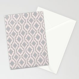 Mapuche Pink and Grey Stationery Cards