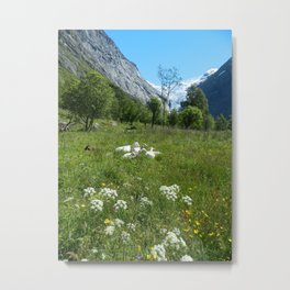 Norwegian Summer Idyll Metal Print