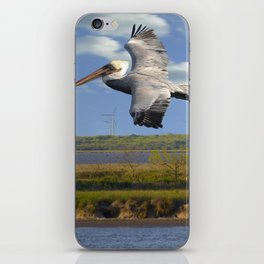 Pelican Wind Turbines iPhone Skin