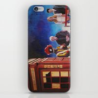 death cab for cutie iPhone & iPod Skins featuring Death cab authorized by GaeTano & Valentina
