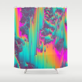 THERE'S NO LIE IN HER FIRE Shower Curtain