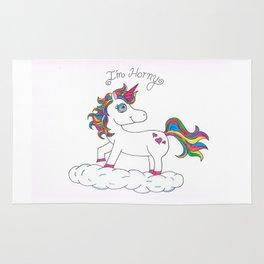 Unicorns are Horny Rug