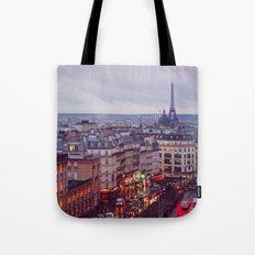 Rainy Paris. Tote Bag