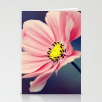 cosmos Stationery Cards featuring Cosmos by Lawson Images