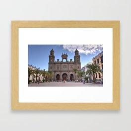 Las Palmas Cathedral Framed Art Print