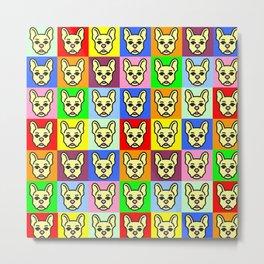 Pugs Metal Print