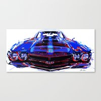 sport Canvas Prints featuring super sport by Vector Art