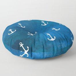 Little Anchors Floor Pillow