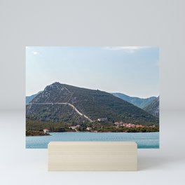 Walls of Ston - Dalmatia, Croatia Mini Art Print