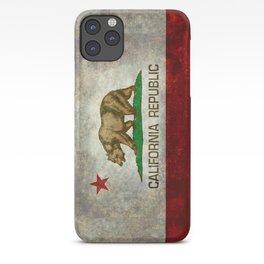 California flag - Retro Style iPhone Case