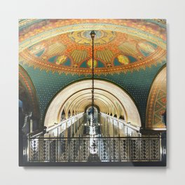 Art Deco Fisher Building Downtown Detroit Metal Print