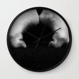 Dance feet Wall Clock