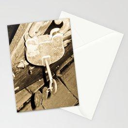THE PADLOCKS OF MY HEART Stationery Cards