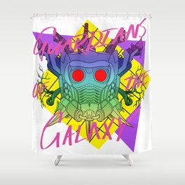 GUARDIANS OF THE 80'S Shower Curtain