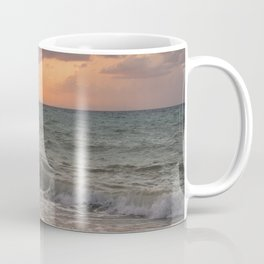 Thyrrenian Sea at sunset Coffee Mug