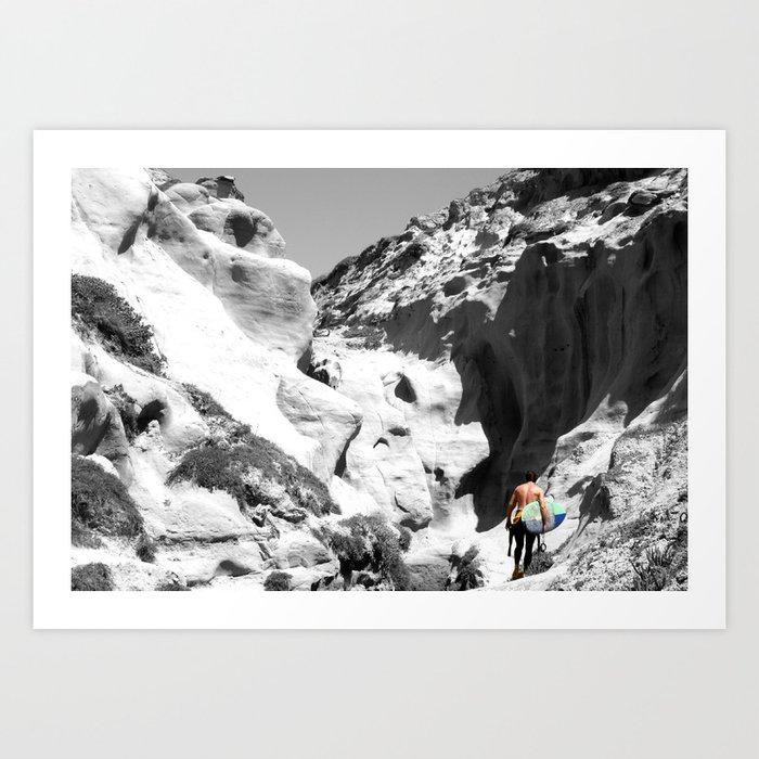 Surf Adventure Art Print