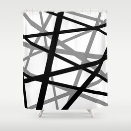 Frankenstrat (Discolorful 2) Shower Curtain