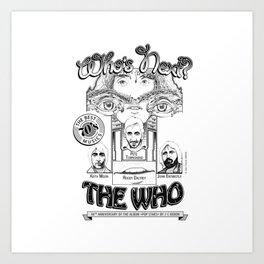 The Who Art Print