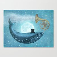 cloud Canvas Prints featuring Cloud Maker  by Terry Fan