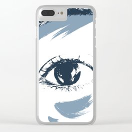 ojo Clear iPhone Case