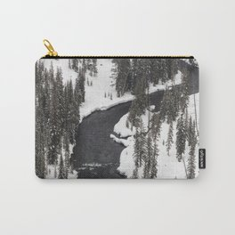 Yellowstone National Park - Lewis River Carry-All Pouch