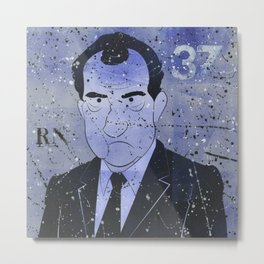 Nixon Metal Print