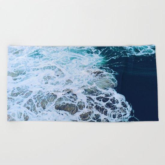 Wonderful Waves Beach Towel