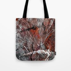 RED ARCHETYPAL STRUCTURES Tote Bag