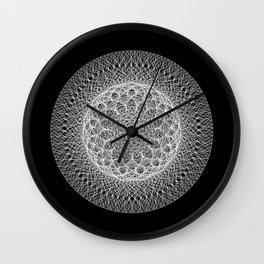 Neptune : Uranus - Black Wall Clock