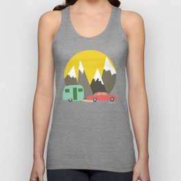 You Make Me a Happy Camper Unisex Tank Top
