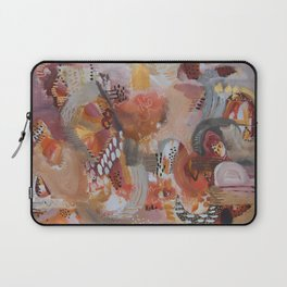 Footprints In Other Lands Laptop Sleeve