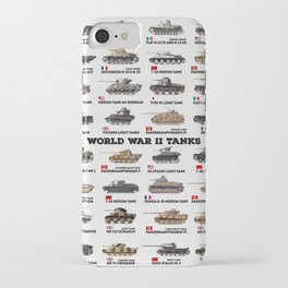 World War II Tanks iPhone Case