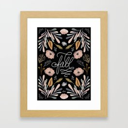 Fall has arrived Framed Art Print