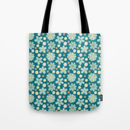 Pattern Project #27 / Summer Flowers Tote Bag