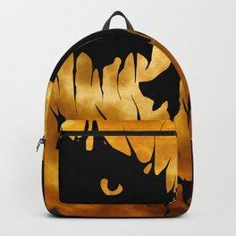 Halloween Creepy Moon Backpack