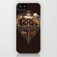 Three Wise Villains Slim Case iPhone (5, 5s)