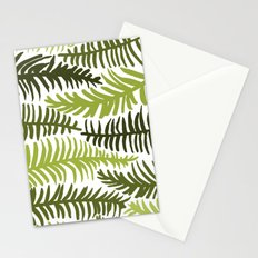 Groovy Palm Green Stationery Cards