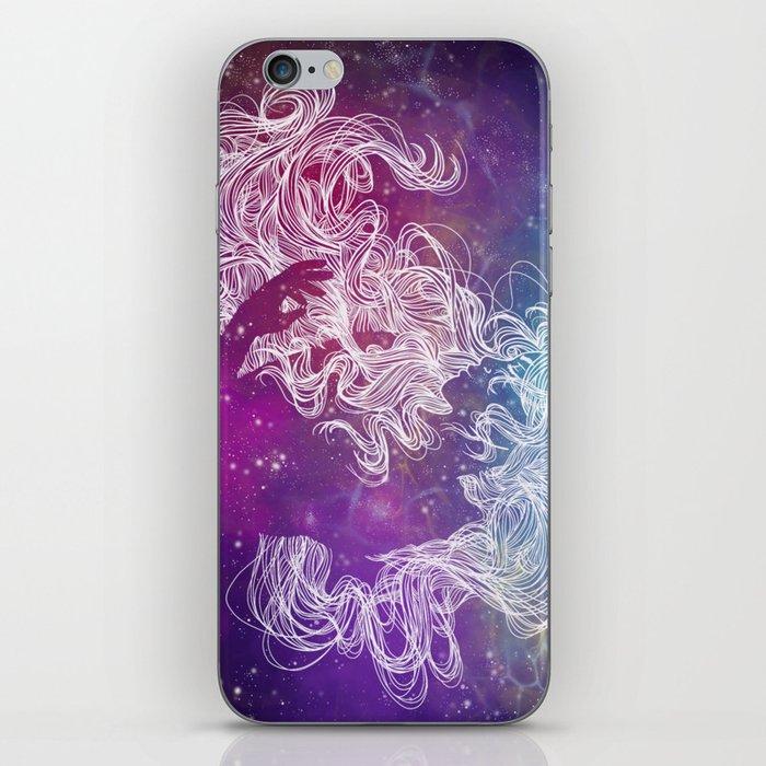 Galaxy Gal iPhone Skin