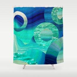 SEA-NCHRONICITY Shower Curtain