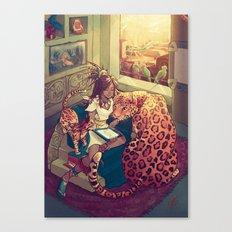 Cihuamiztontli Canvas Print
