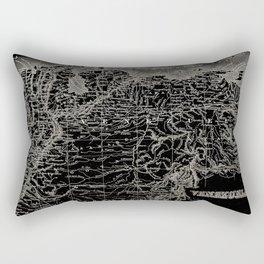 Venezuela Antique Map Rectangular Pillow