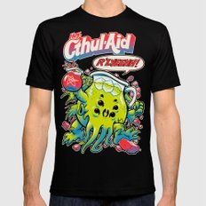 CTHUL-AID LARGE Mens Fitted Tee Black