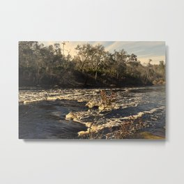 Shoal on the Suwannee Metal Print