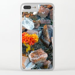 Rubble Clear iPhone Case